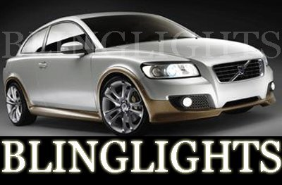 2007 2008 2009 2010 Volvo C30 Xenon Foglamps Foglights Drivinglights Driving Fog Lamps Lights Kit