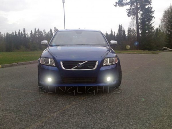 2005-2012 Volvo V50 Xenon Foglamps Foglights Drivinglights Driving Fog Lamps Lights Kit
