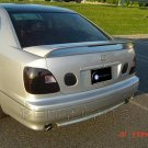1998-2005 Lexus GS GS300 GS400 GS430 Tinted Smoked Protection Overlays for Taillamps Taillights