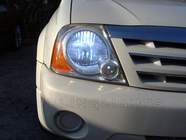 Suzuki XL-7 XL7 Bright White Headlamps Headlights Head Lamps Lights Replacement Light Bulbs