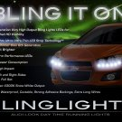 Chevrolet Chevy Sonic DRL LED Strip Headlights Headlamps Day Time Running Lights Head Lamps DRLs