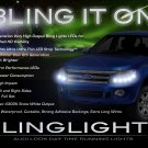 Ford Ranger LED Lights Strip DRL Day Time Running Lamps Kit Headlamps Headlights Lighting Set