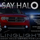 2011-2013 Dodge Durango Halo Fog Lamp Driving Light Kit Angel Eyes