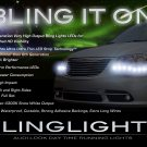 Chrysler Town & and Country LED DRL Light Strips Headlamps Headlights Head Lights Lamps LEDs DRLs