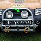 Land Rover Freelander Off Road Bumper Lamp Bar 2 Driving Lights