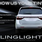 Honda Odyssey Tinted Tail Lamp Light Overlays Kit Smoked Protection Film