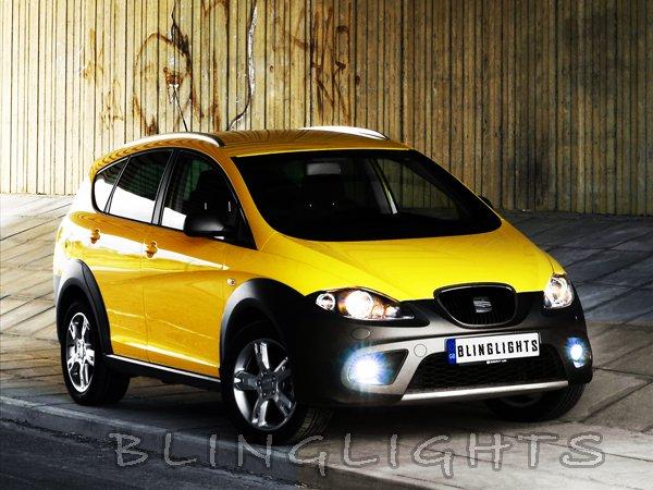 Seat Altea Xenon Driving Lights Fog Lamps Kit xl 4 freetrack set