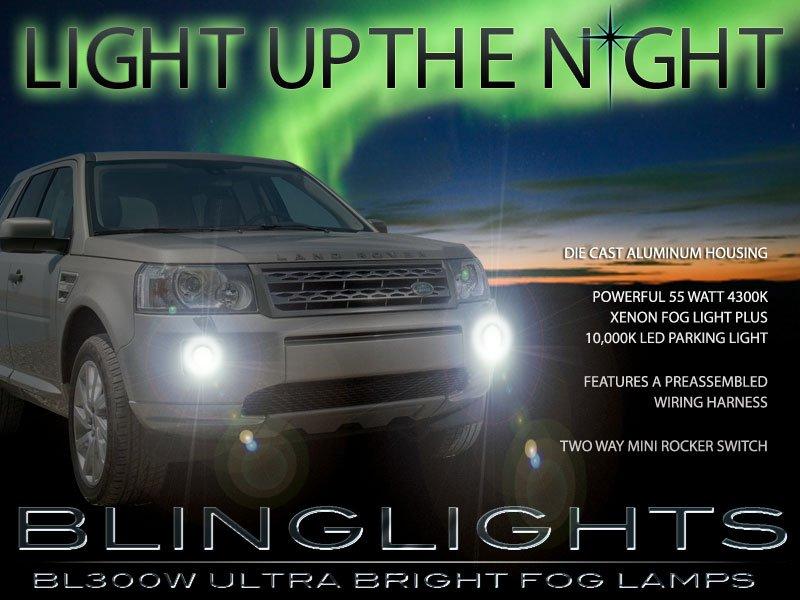 2011-2015 Land Rover LR2 Freelander 2 Fog Lamps Driving Lights