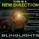 2009 2010 2011 Suzuki Kizashi LED Mirror Turnsignals LED Turn Signals Lights LEDs Signalers Lamps