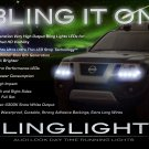 Nissan Xterra LED DRL Light Strips Headlamps Headlights Day Time Running Lamps Strip Lights