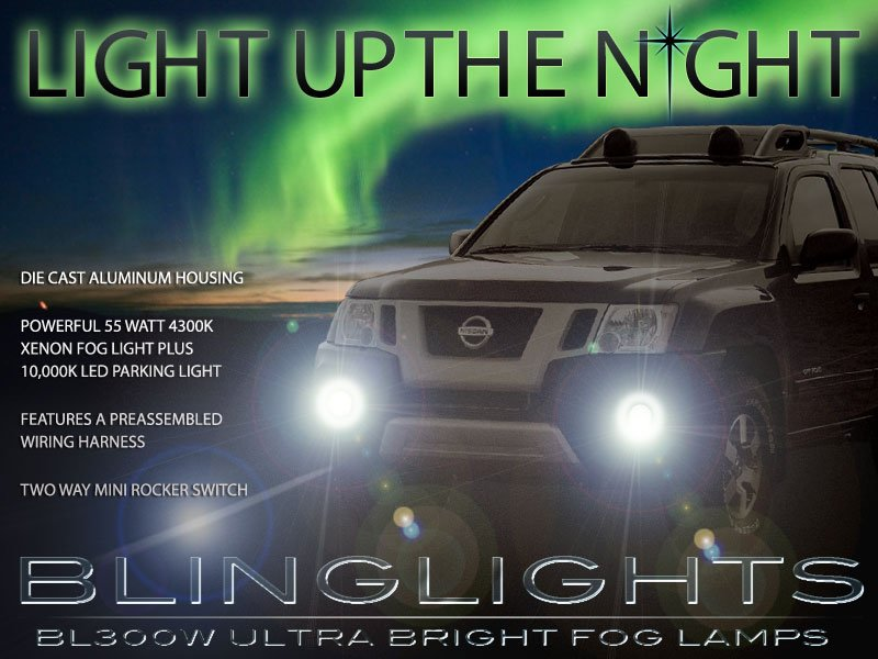 2009-2015 Nissan Xterra N50 Xenon Fog Lamp Driving Light Kit