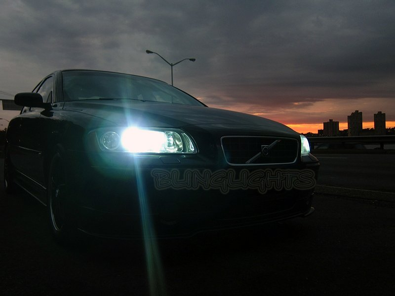 Volvo S60 V60 Replacement HID Light Bulbs for Factory Xenon Headlamps Headlights Head Lamps Lights