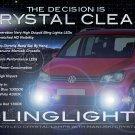 2011 2012 2013 Volkswagen Touran LED Foglamps Foglights Driving Fog Lamps Lights Kit VW