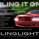 Dodge Magnum LED DRL Head Light Strips Day Time Running Lamp Kit