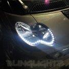 Smart City City-Coupé City-Cabrio LED Strips Headlamps DRLs Headlights Head Lamps Strip Lights