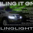 Nissan Patrol Safari LED DRL Strips Headlamps Headlights Head Lamps Day Time Running Strip Lights