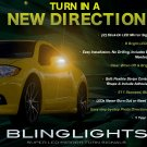 Mitsubishi Eclipse Side View Mirror LED Turnsignals LEDs Mirrors Turn Signals Lights Signalers Lamps