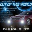 2008-2013 Cadillac CTS Xenon Fog Lamp Driving Light Kit Foglamps Foglights Drivinglights