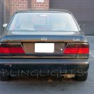 Infiniti G20 Tinted Smoked P10 P11 Taillamps Taillights Tail Lamps Lights Protection Overlays