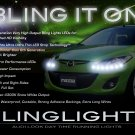 Mazda2 LED DRL Head Light Strips Demio Day Time Running Lamps