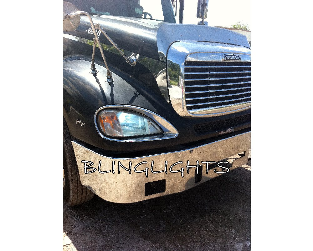 Freightliner Century Class Bright White Light Bulbs for Headlamps Headlights Head Lamps Lights