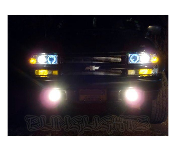 1999 2000 2001 Chevrolet Trailblazer Chevy Blazer Halo Fog