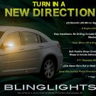 Chrysler Sebring Side Mirror LED Turnsignals Lights Turn Signals Lamps LEDs Mirrors Signalers Marker