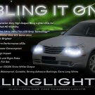 Chrysler Sebring LED DRL Head Light Strips Daytime Running Lamps