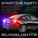 Honda Civic Strobe Lights Taillamps Headlamps Head Tail Lamps Strobes Headlights Taillights Kit