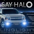2007 2008 2009 2010 2011 2012 Chevrolet Chevy Suburban Halo Foglamps Angel Eye Fog Lamps Lights Kit