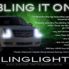 Cadillac Escalade LED DRL Strip Lights Day Time Running Lamps Headlamps Headlights Head LEDs DRLs