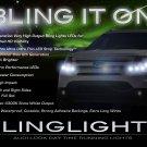 Ford Explorer LED DRL Head Lamp Light Strips Day Time Running Kit