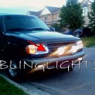 Mercury Mountaineer LED DRL Strip Lights Day Time Running Lamps Headlamps Headlights Head LEDs DRLs