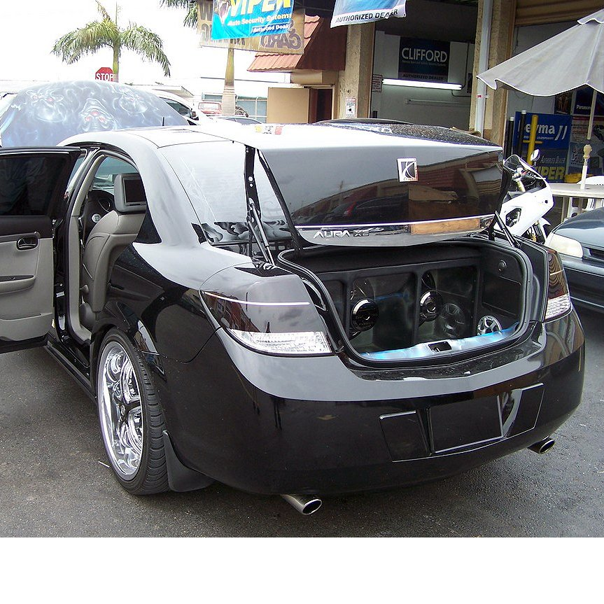 2007 2008 2009 Saturn Aura Tinted Smoked Taillamps Taillights Protection Overlays