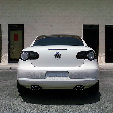2006-2011 VW EOS Tint Tail Lamp Light Smoke Overlay Kit Volkswagen Taillights Protection Film