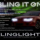 Saturn Ion LED DRL Strip Lights Day Time Running LEDs DRLs Strips Head Lamps Headlights Headlamps