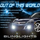 2007 2008 2009 Saturn Sky Xenon Foglamps Bumper Foglights Driving Fog Lamps Lights Kit coupe sedan