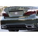 Lexus LS600hL LS 600h L Tinted Smoked Protection Overlays for Taillamps Taillights Tail Lamps Lights