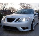 2008 2009 2010 2011 Saab 9-3 Bright White Light Bulbs for Headlamps Headlights Head Lamps Lights