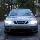 1997-2010 Saab 9-5 Bright White Light Bulbs for Halogen Headlamps Headlights Head Lamps Lights
