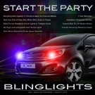 Kia Rio Rio5 Strobes Headlamps Tailllamps Strobe Lights Head Tail Lamps Headlights Taillights Kit