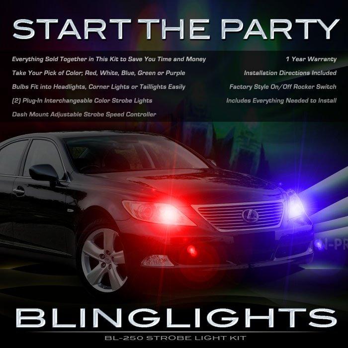2007 2008 2009 2010 2011 Lexus LS460 LS Strobes Headlamps Headlights Head Lamps Strobe Lights