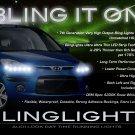 Hyundai i10 LED DRL Strip Lights Headlamps Headlights Head Lamps Day Time Running LEDs Strips DRLs