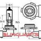 H10 Xenon White Halogen Light Bulbs for Driving Fog Lamps Lights Foglamps Foglights Lamp Light