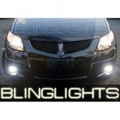 2005 2006 2007 2008 Pontiac Vibe Xenon Foglamps Foglights Driving Fog Lamps Lights Kit