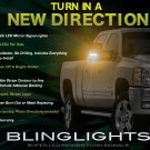 GMC Canyon LED Mirror Turnsignals Lights LEDs Mirrors Turn Signals Lamps Side View Signalers