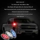 Chevy Express Van Side Marker Accent Turnsignal Lamps LED Turn Signal Lights Chevrolet Signalers