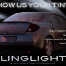Pontiac G6 Tinted Smoked Taillamps Taillights Tail Lamps Lights Protection Overlays Film