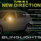 2008 2009 Saturn Astra LED Side Mirror Turnsignals Lights LEDs Turn Signals Lamps Mirrors Signalers