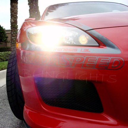 Mazda RX-8 RX8 Bright White Light Bulbs for Headlamps Headlights Head Lamps Lights